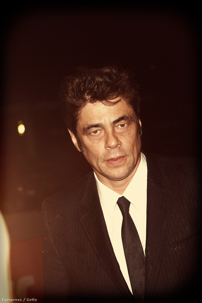 Benicio Del Toro a torontói filmfesztiválon.