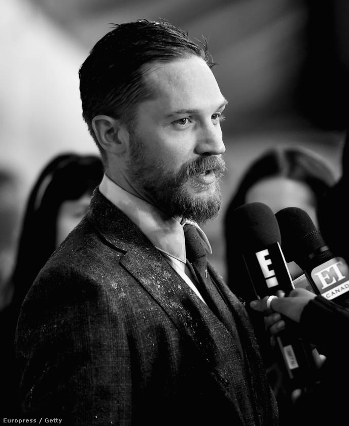 Tom Hardy a torontói filmfesztiválon.