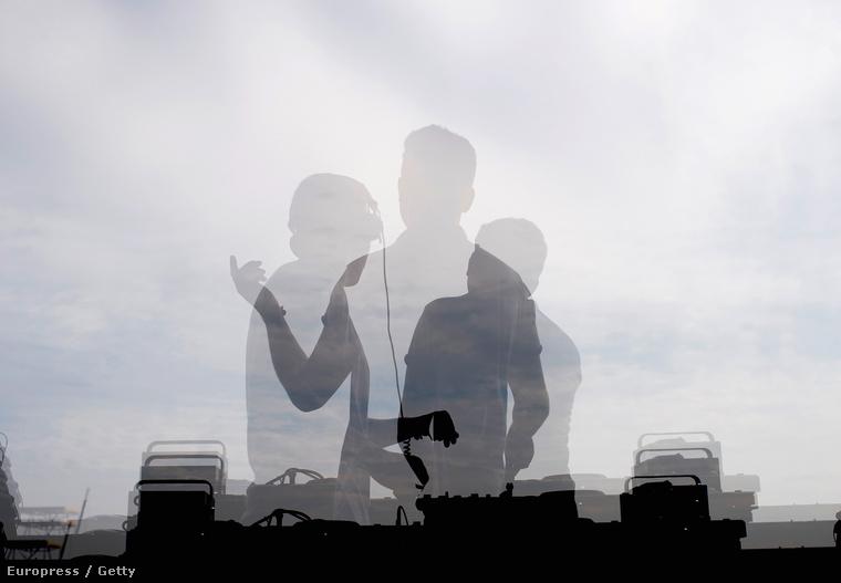 Az első európai Lollapaloozáról egy kép, amit Berlinben tartottak.