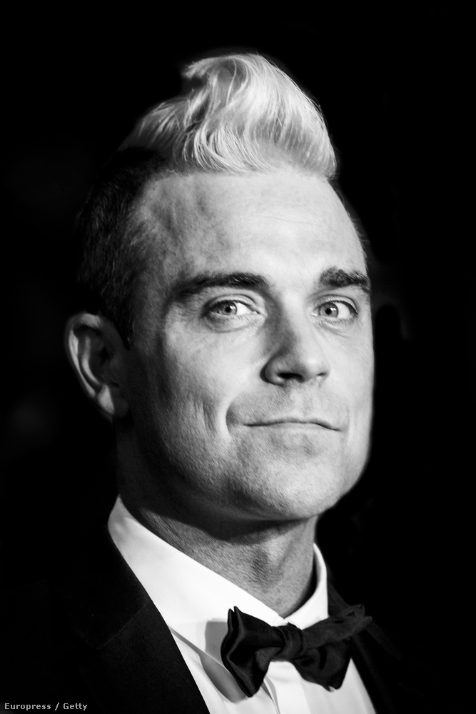 Robbie Williams Cannes-ban