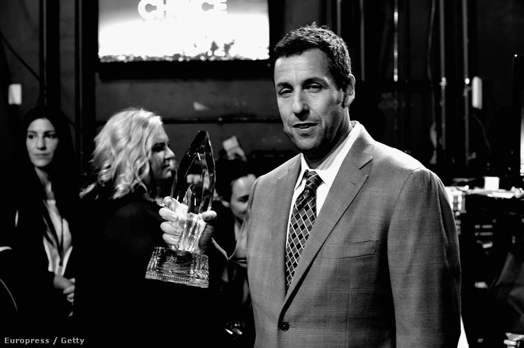 Adam Sandler a People's Choice Awardson 2015 januárjában.