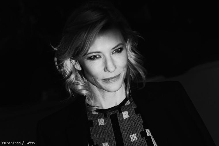 Cate Blanchett a Berlinálén 2015 februárjában.
