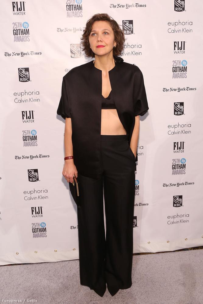 A színésznő egy New York-i független filmes gálán ebben az összeállításban jelent meg