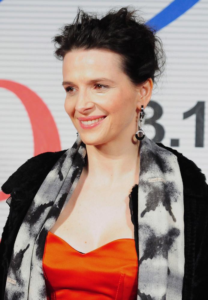 Juliette Binoche arcformája nagyon hasonló