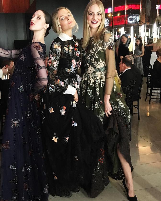 December 7-én, New Yorkban adtak egy estélyt  Valentino Garavani divattervező tiszteletére