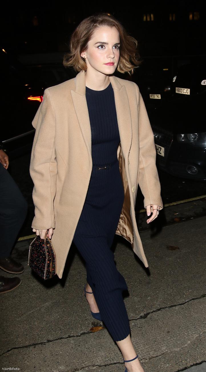 Emma Watson is ott volt kedden, Londonban a True Cost című, a divatvilágról szól dokumentumfilm bemutatóján.Bármilyen képet készítettek róla, gyakorlatilag tökéletesen nézett ki mindegyiken.