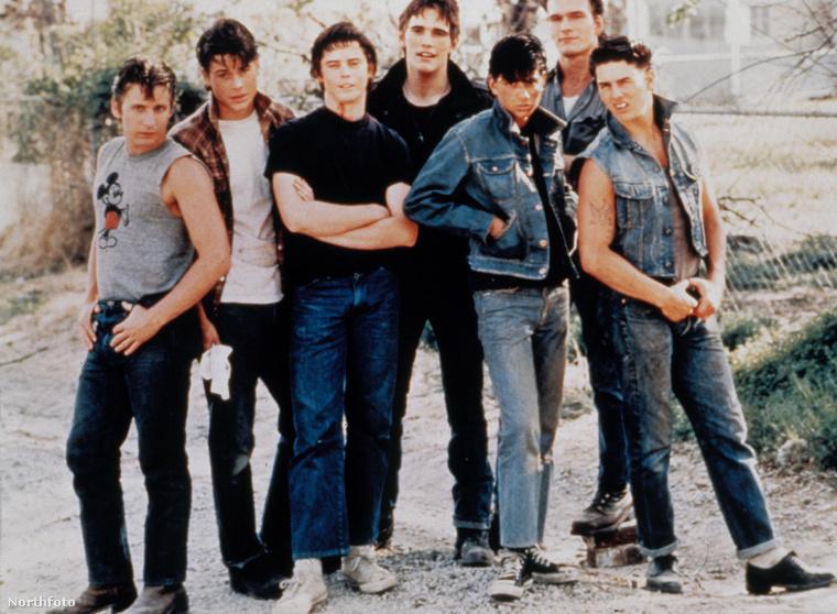 És hogy kiket lát ezen a képen?                          Rob Lowe-t, Emilio Estevezt, na és Tom Cruise-t