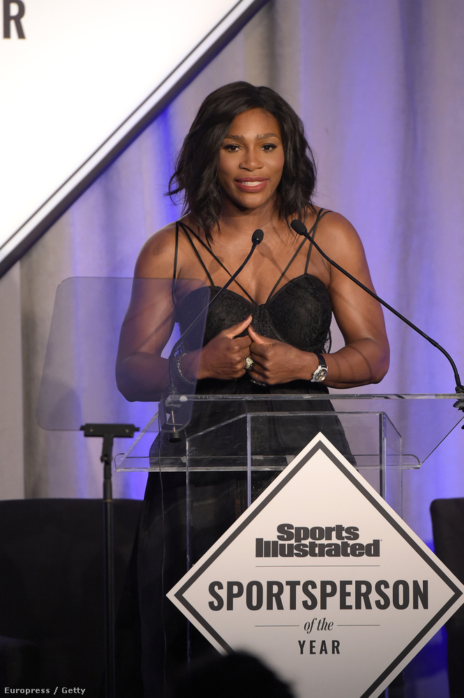 Serena Williams lett az év sportembere a Sports Illustrated háziversenyén
