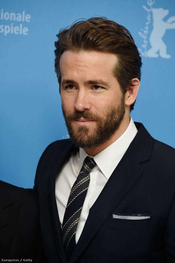 Már amikor Ryan Reynolds nincs elmaszkírozva egy szerep kedvéért.
