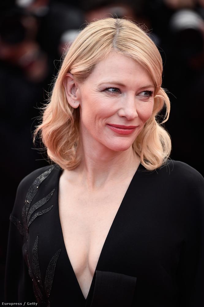 Ugyanis az előző hajléktalan férfi a gyönyörű Cate Blanchett volt, aki egy fotóművész kedvéért pózolt így.