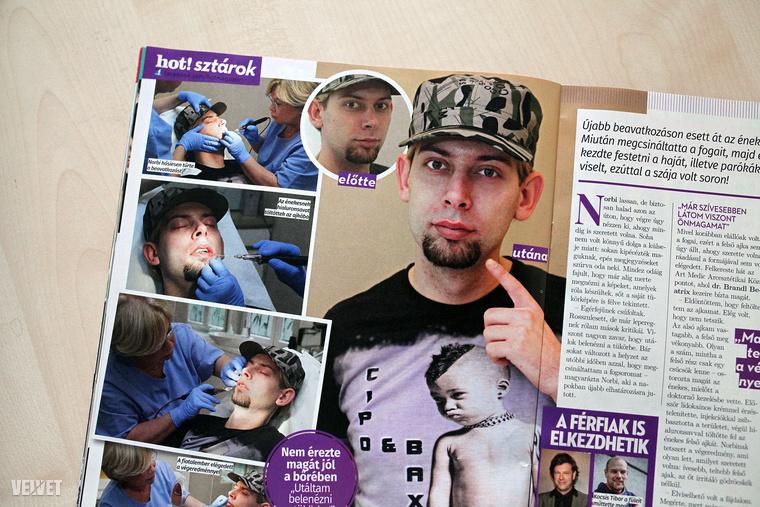 Vagy azt a Hot! magazint, amely megmutatta Király L