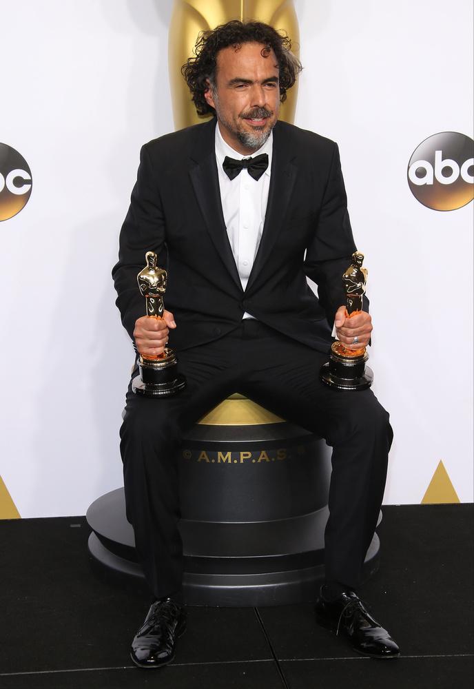 Alejandro González Iñárritu a Birdamanért kapott Oscart