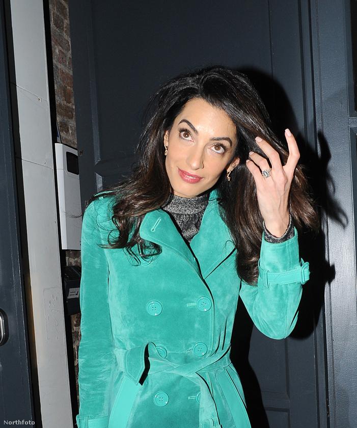 7Na de George Clooney igazán kitett magáért, gondolhatja ön, ha ezt a hét karátos gyémántot meglátja, amit Amal Alamuddinnak ajándékozott