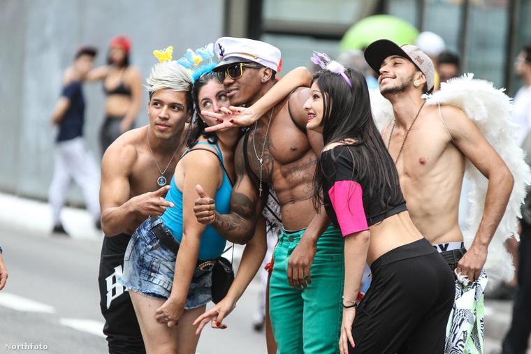 Június 7-én volt Sao Paulóban a melegfelvonulás