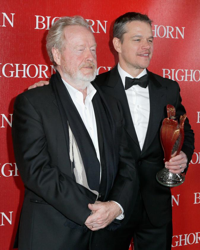 Matt Damon pedig a zsűri különdíját nyerte el.