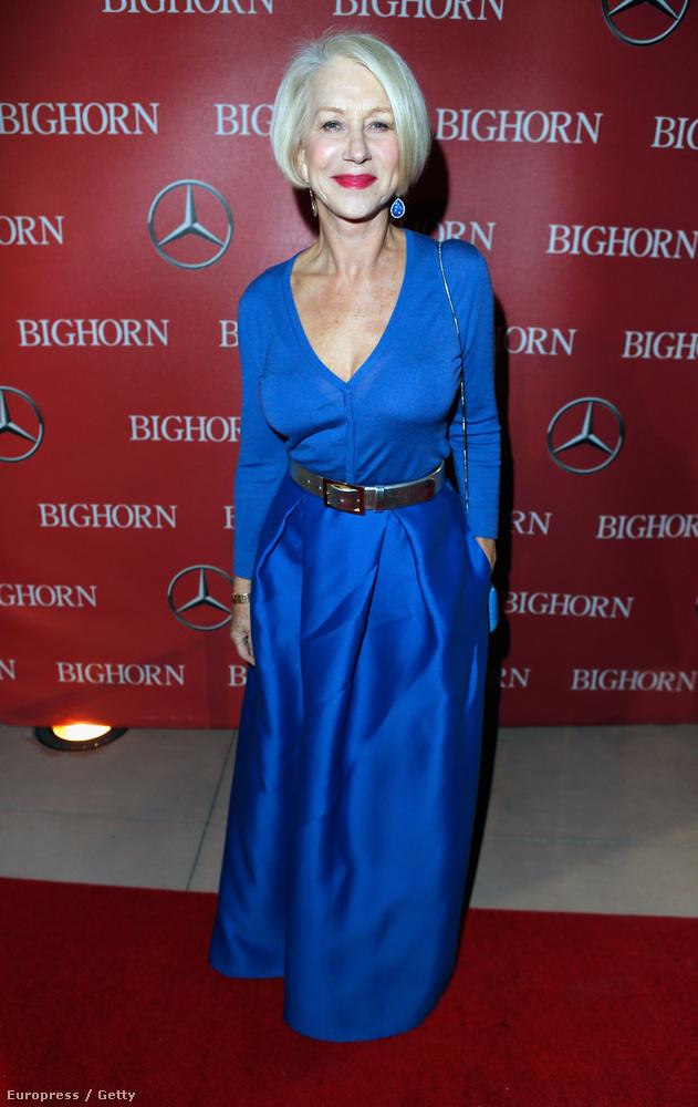 Helen Mirren nem nyert semmit, csak azért mutatjuk meg, mert nagyon szép volt a ruhája.