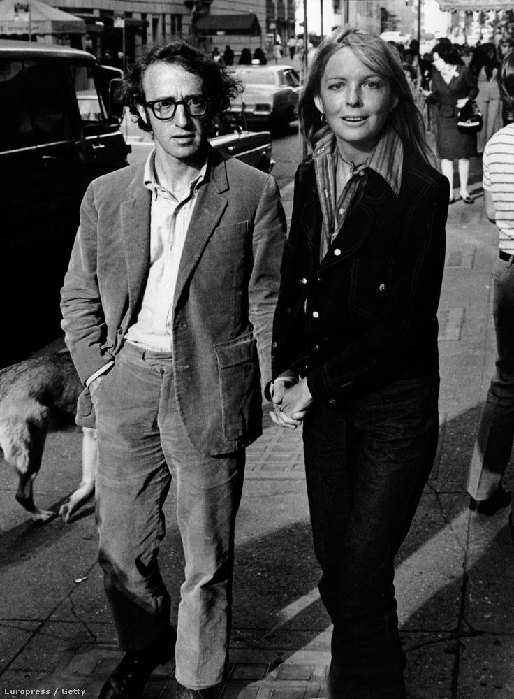 Diane Keaton január 5-én töltötte be a 70-et