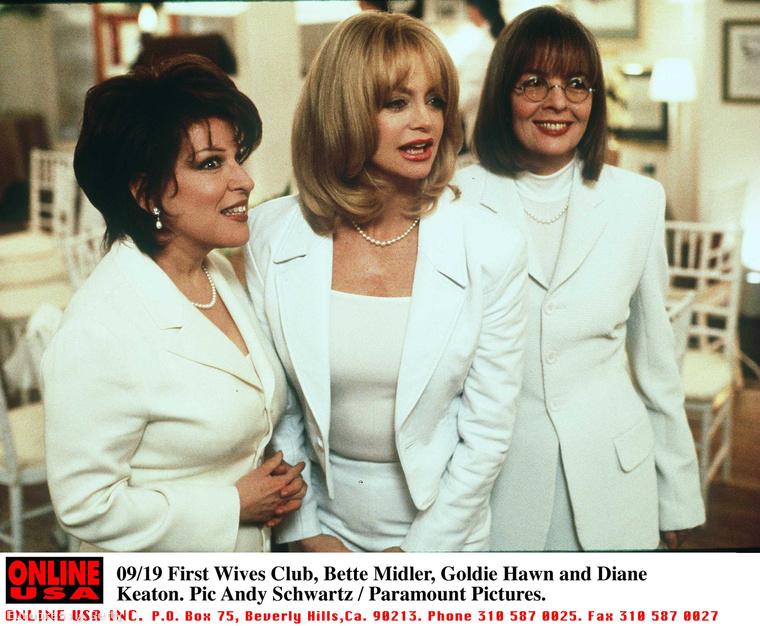Az elvált nők klubja 1997-ben, Bette Midler, Goldie Hawn és Diane Keaton