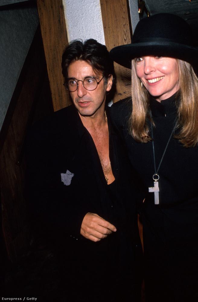 """A már említett 2004-es interjúban Keaton a következőket nyilatkozta Al Pacinóról: """"Al volt a legszórakoztatóbb férfi, akit ismertem.."""
