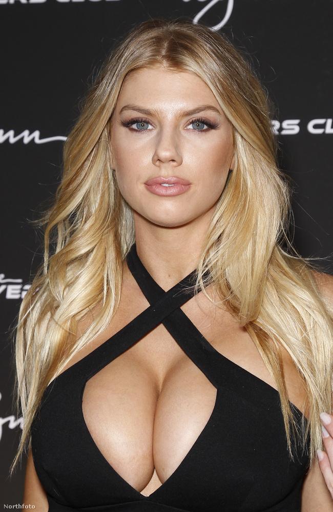 Charlotte McKinney szerencsére nem akar több lenni, mint ami: a mellei méretéből élő modell.