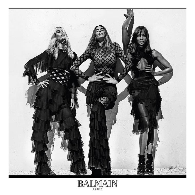 A Balmain új kampányában sikerült az, ami eddig keveseknek: három egykori topmodellt is finoman szólva előnytelenül fotózni