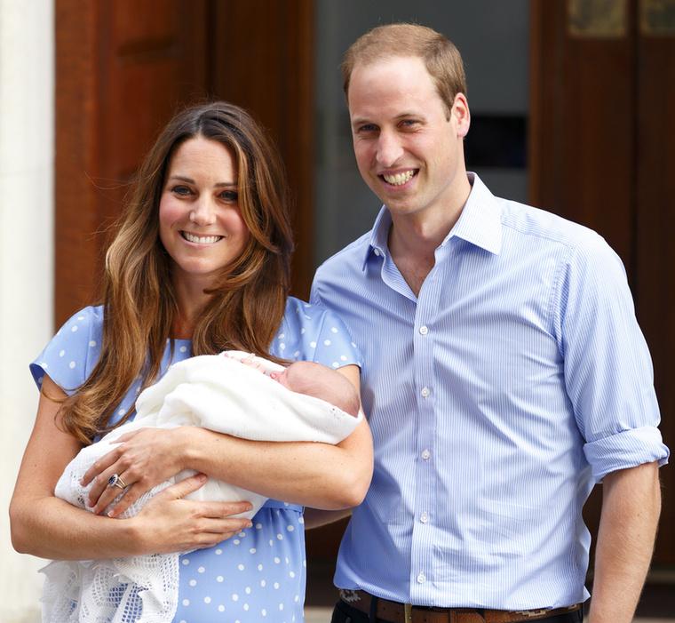 Aztán 2013-ban megszületett első gyermekük, György
