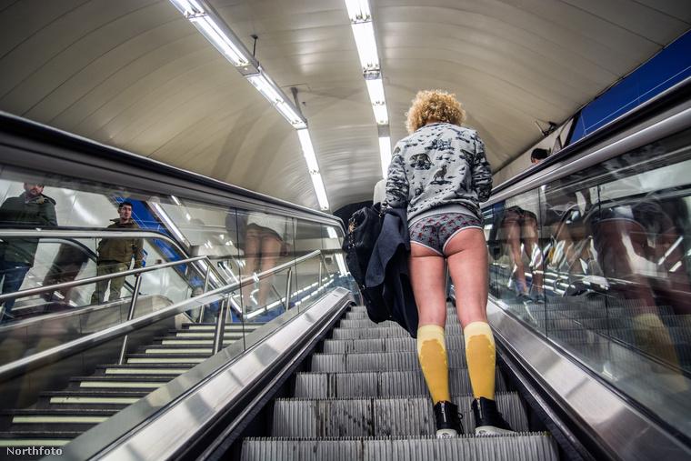 Január 10-én volt a gatyátlanul metrózás világnapja
