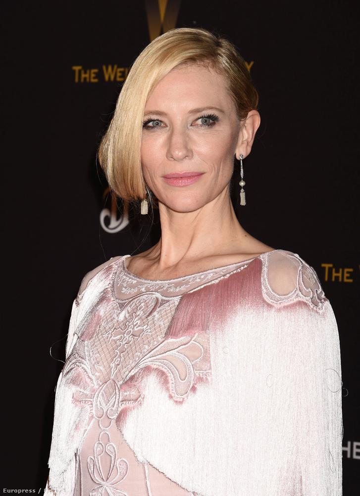 Kezdjük a legjobb női főszereplőkkel!Cate Blanchettet a Carol című filmjéért jelölték