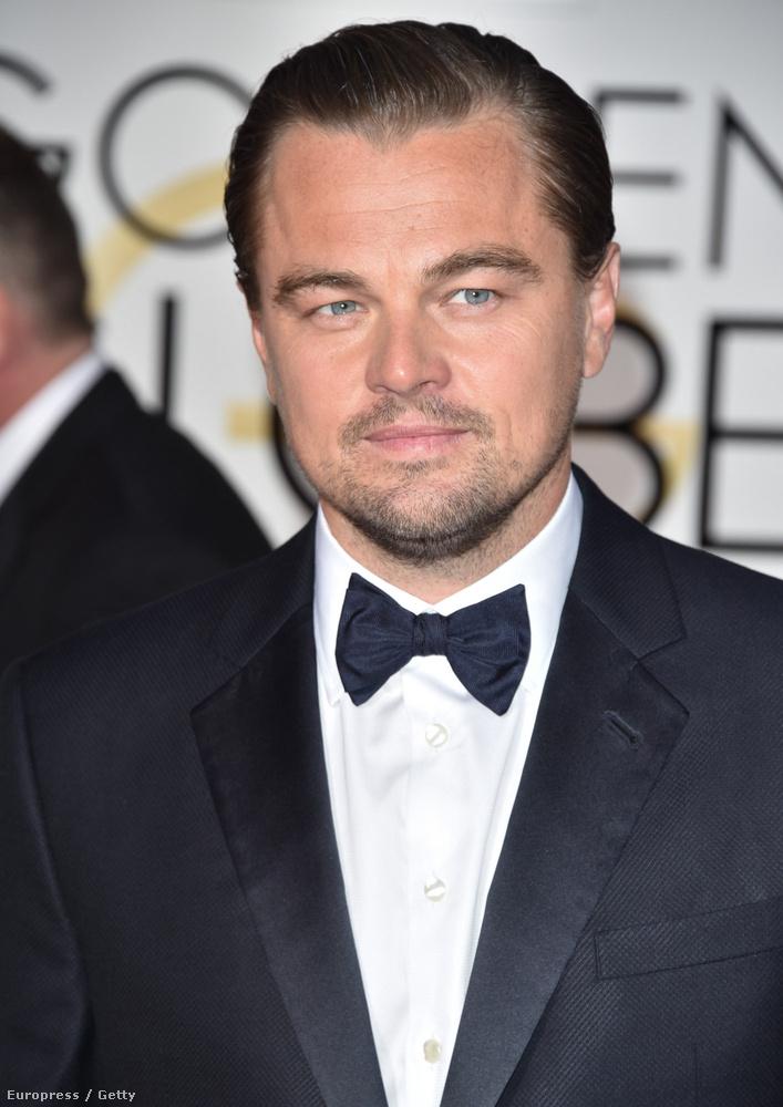 A legjobb férfi főszereplőLeonardo DiCaprio is lehet, A visszatérőért