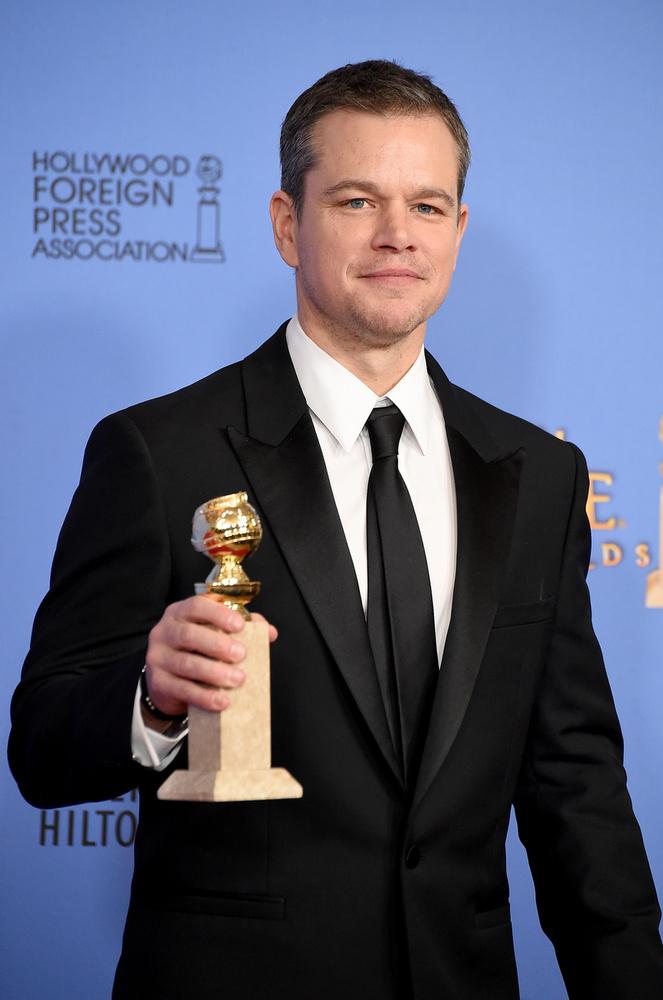 Matt Damon a Mentőexpedícióért kaphat díjat