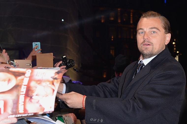 Január 14-én tartották A visszatérő című film európai premierjét, Londonban
