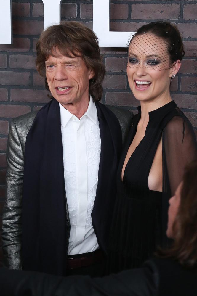 Mick Jagger is megtisztelte jelenlétével az HBO-t.