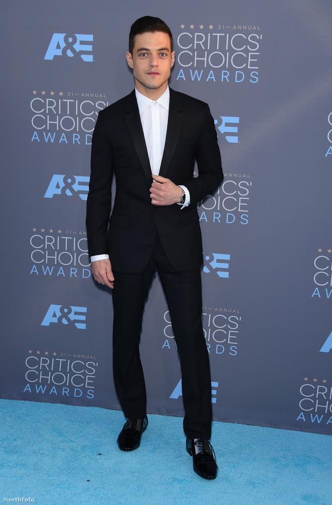 Rami Malek lett a legjobb színész, drámasorozatok kategóriában