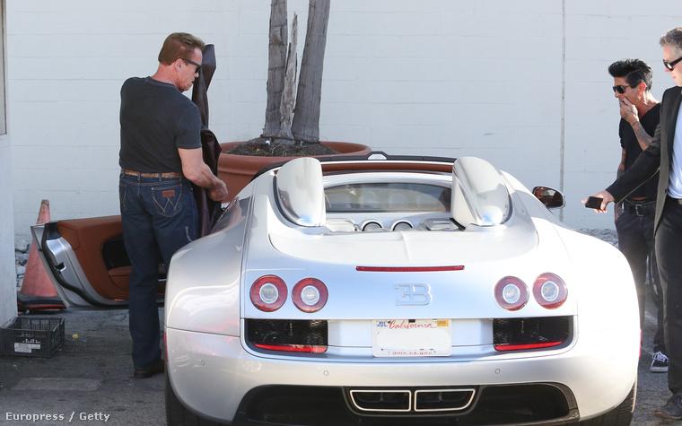 A kétmillió dolláros Bugatti sokat dobhatott a hangulatán
