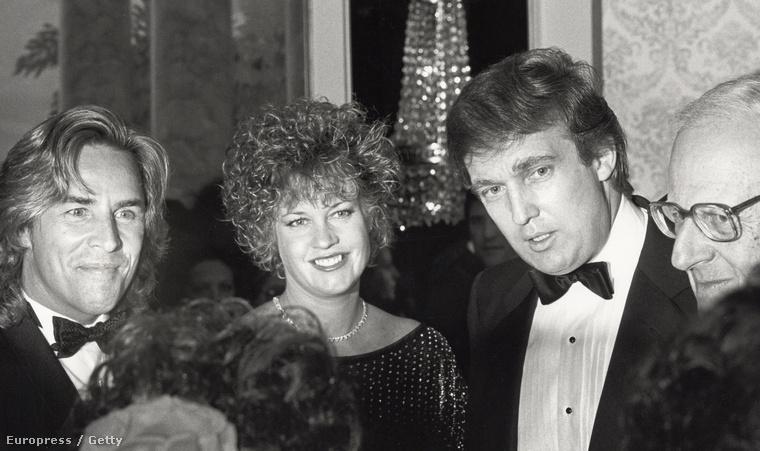 Pár évtizeddel korábban Donald Trump kifejezetten jóképű volt