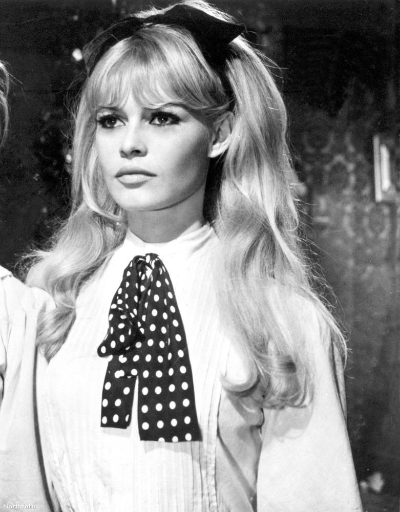 hogy nemcsak az állatvédelmi törekvéseivel, hanem külsejével is igyekszik Brigitte Bardot nyomdokain haladni