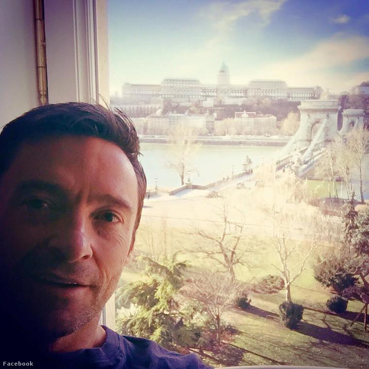 Hugh Jackman meg Budapestre csodálkozott rá, miközben Zimány Lindától óvták kommentelői