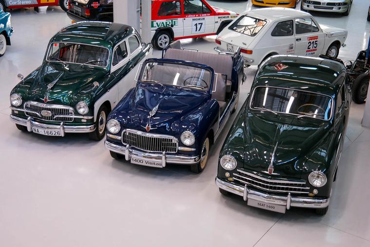 Az első modell, amit a Seat a Fiat-liszensz alapján gyártott, az a képen látható 1400-as
