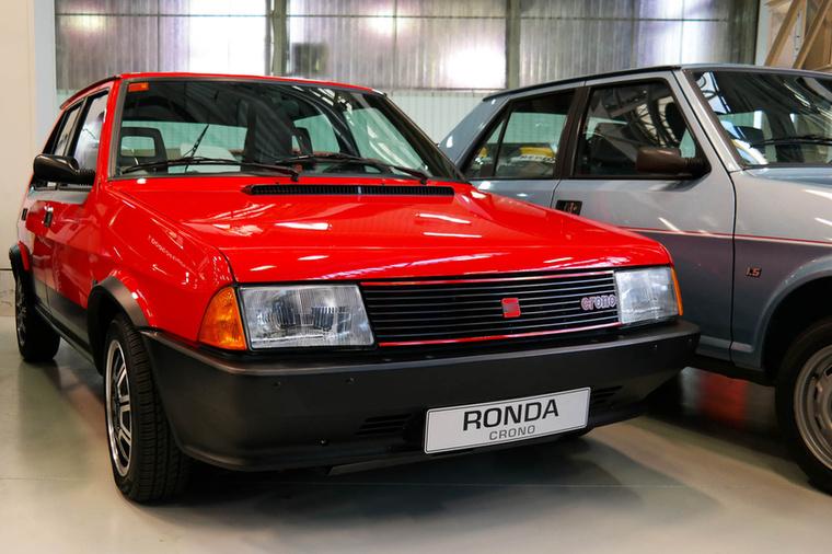 Seat Ronda Crono 2.0 - kétliteres, 120 lovas motorral, mindössze 290 készült belőle