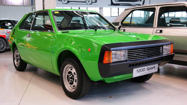 """1200 Sport """"Bocanegra"""", az első saját fejlesztéseként"""