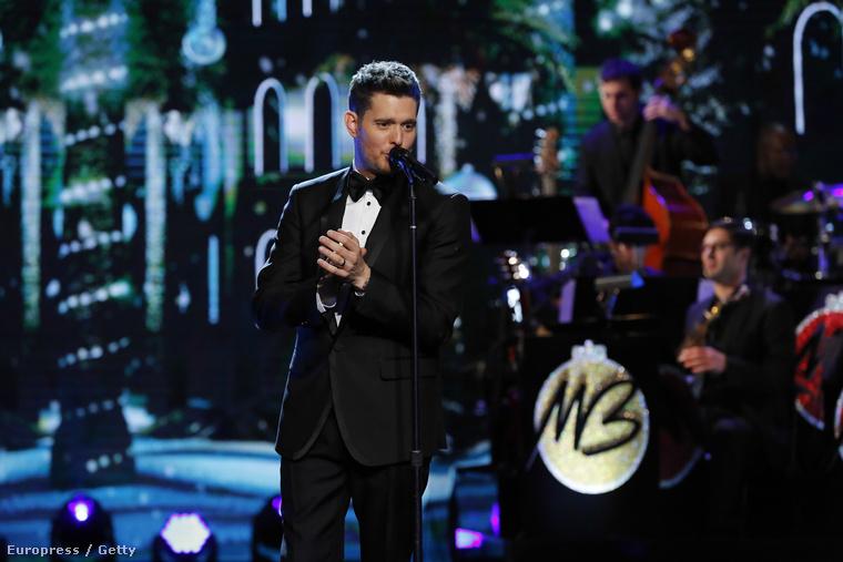 Na de mit keres itt a csodás hangú Michael Bublé?