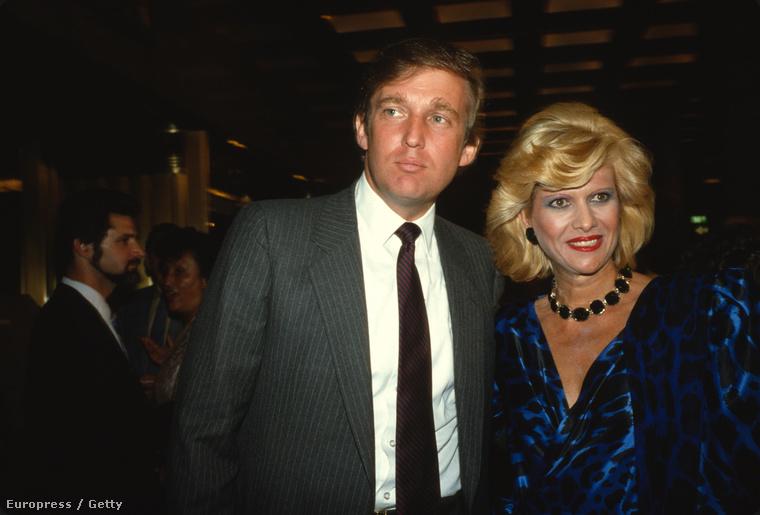 Ivana 1977-ben lett Mrs.Trump, és egy nagyon ígéretes üzleti birodalom nagyasszonya