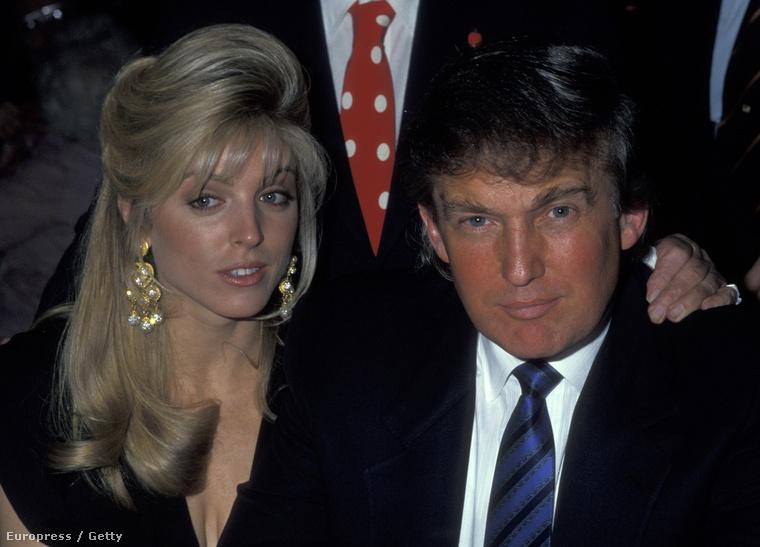 Miss Maples természetesen nem azért állt bele a gaz csábító szerepébe, hogy szerető maradjon, 1993-ban gyorsan szült is egy gyereket, hogy bebiztosítsa magát, és azután a házasságra sem kellett sokat várnia.