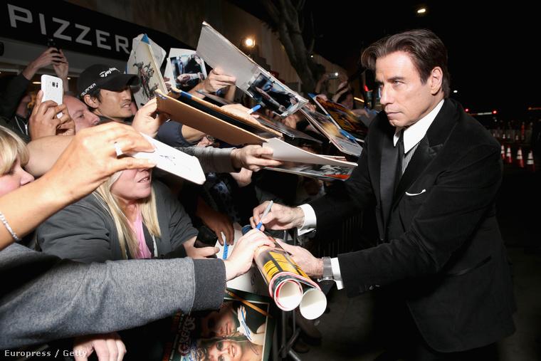 John Travolta is nagyon élvezte! (61.)