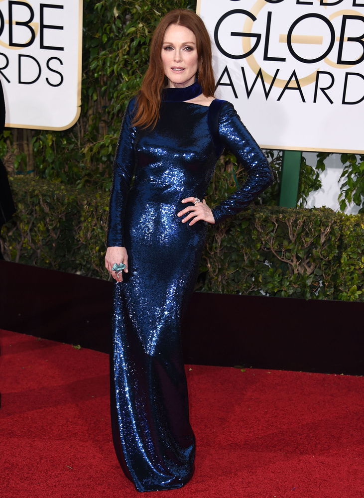 Julianne Moore a Golden Globe-on