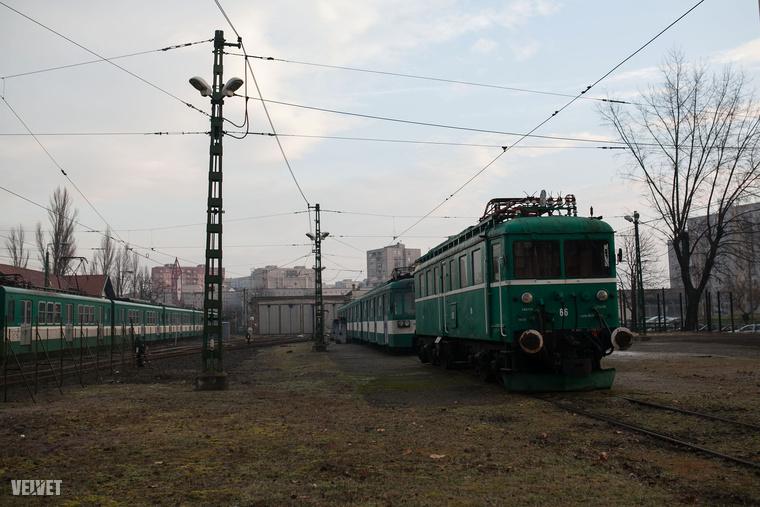 Egyébként ezt az egyetlen HÉV-vonal az összes közül, ami nem hagyja el Budapest határát