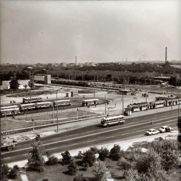 Az Örs vezér tere az 1960-as években