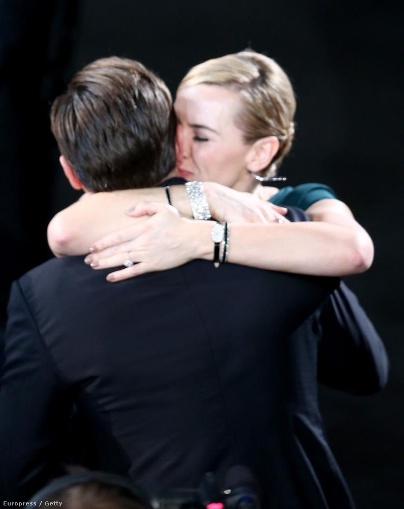 DiCaprio és Winslet először a Titanicban játszottak együtt