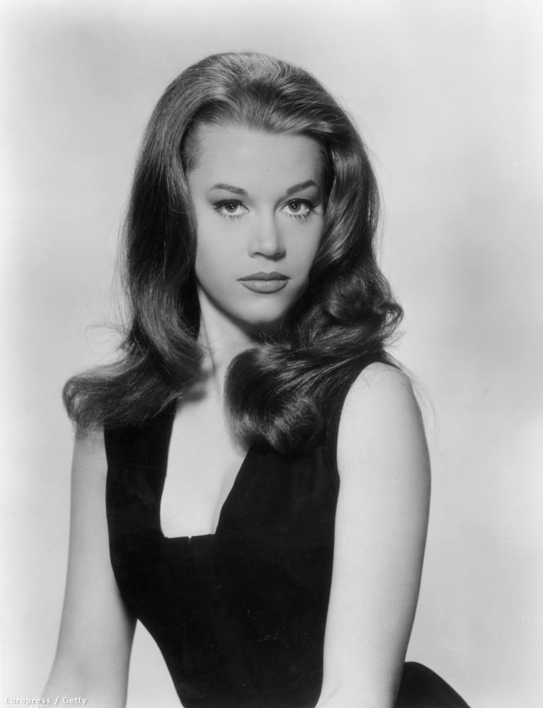 Ő itt Jane Fonda a hatvanas években