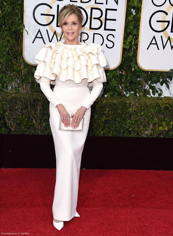 És Jane Fonda 2016-ban